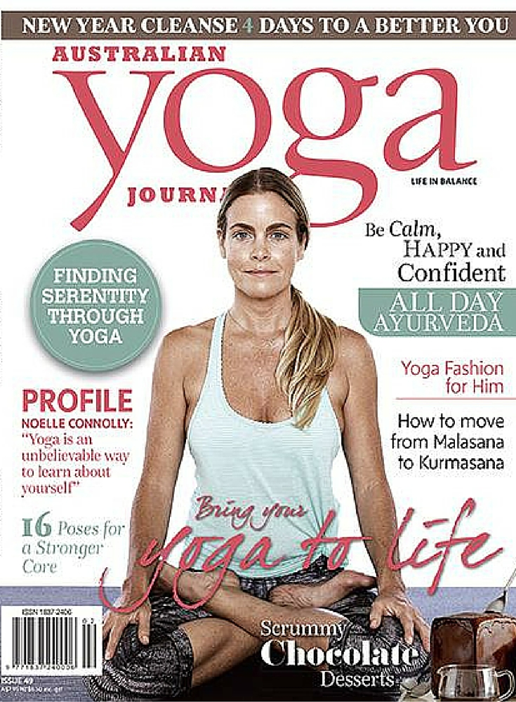 Australian Yoga Journal feature Delicious Skin
