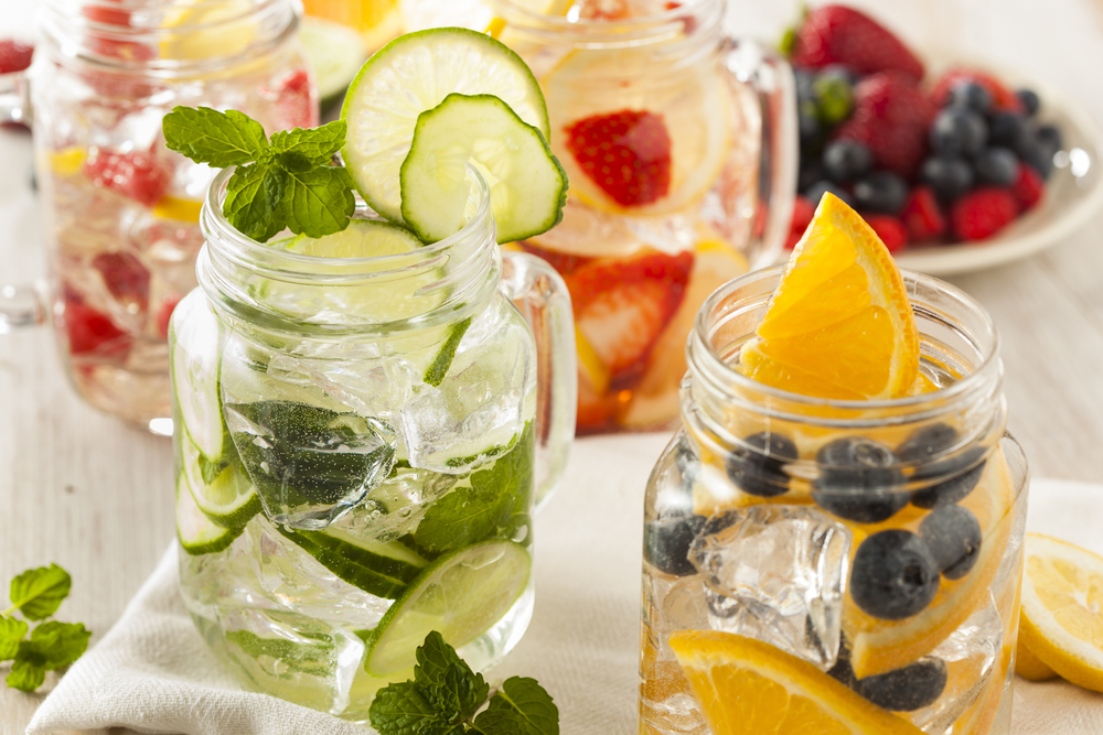 Infused water 3 ways