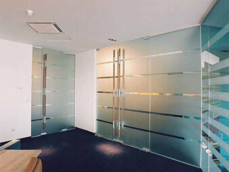 Decorative Window Film_Interior Offices. American Glass Coatings
