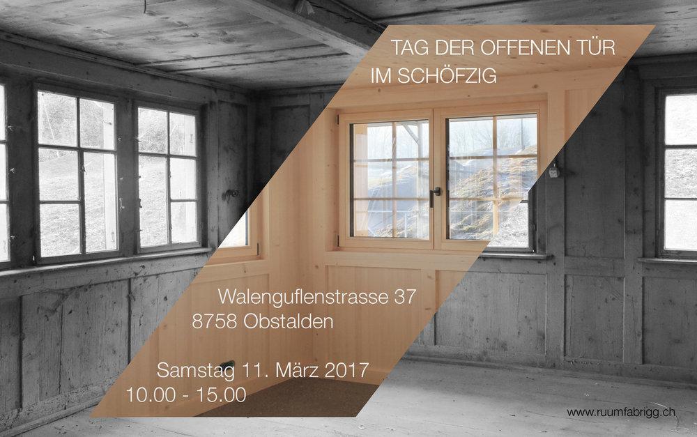 17. Feb 2017 -  Haus Schöfzig  - Ankündigung