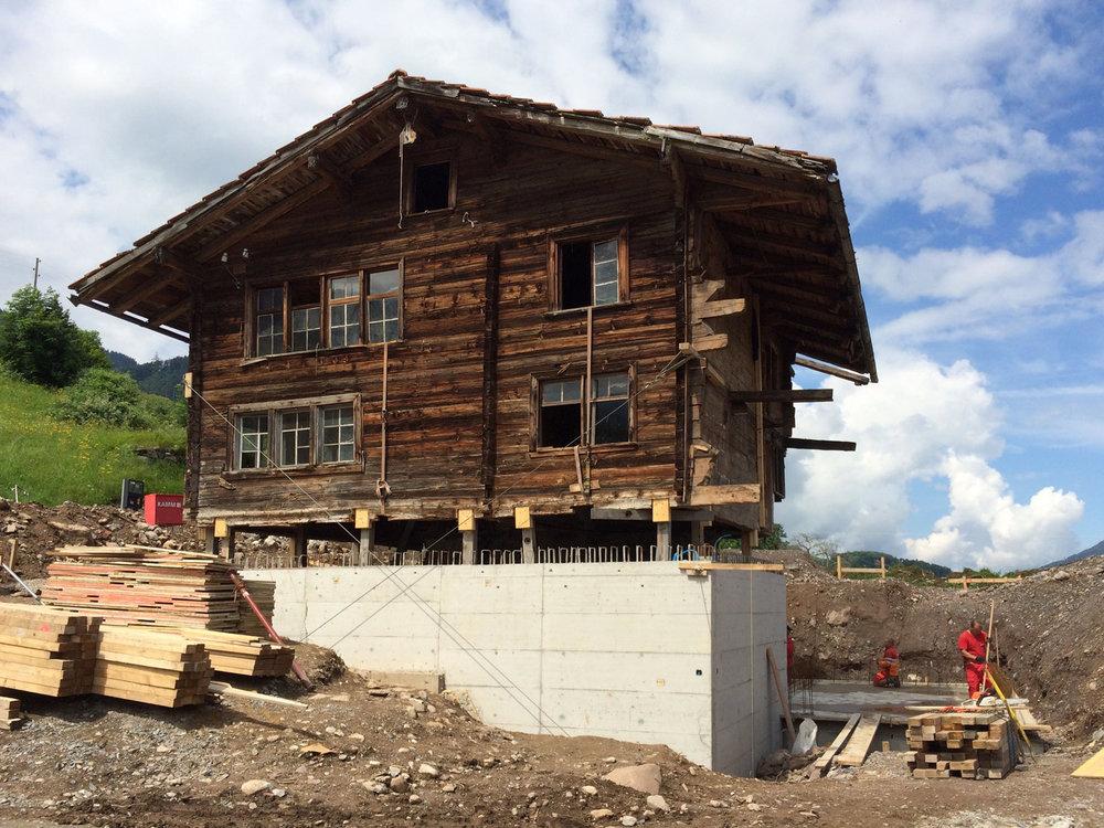 28. Jun 2016 -  Haus Schöfzig  - Pfahlbau