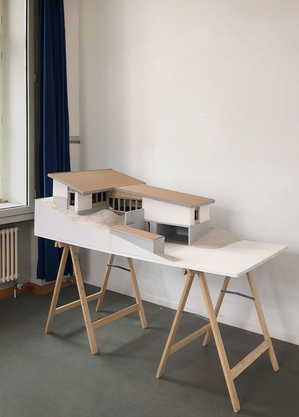 13. Feb 2019 -  Haus am Hang  - Modell 1:20