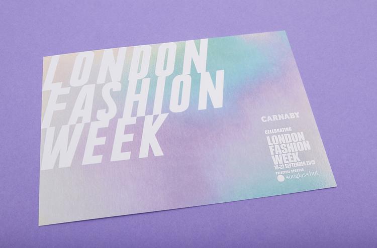 London Fashion Week Giuseppe Alagna