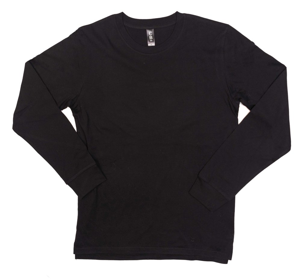 M6 - Mens Long Sleeve Tshirt (with cuffs)