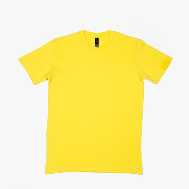 Lemon yellow M1 tshirts are now on sale. Please contact your sales rep for further information, or contact sales@cbclothing.com.au or (03) 9335 6606
