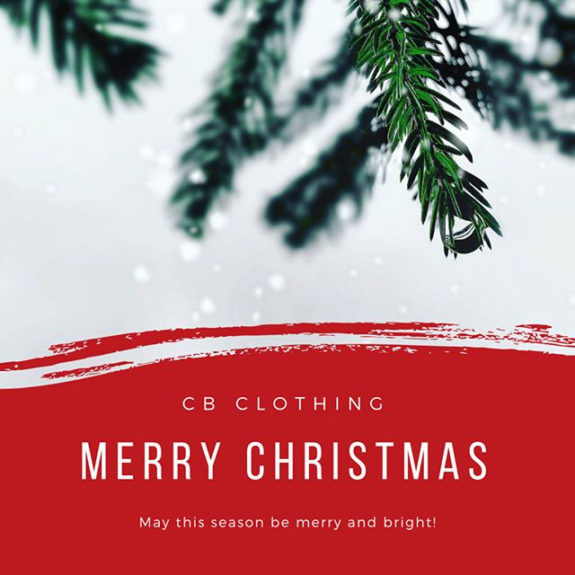 Happy happy Christmas from your CB Clothing family!