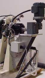 MPM's Automatic Pendulum  Return System on a Tabletop Machine