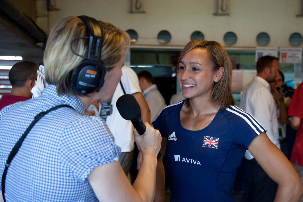 Interviewing Jessica Ennis Hill
