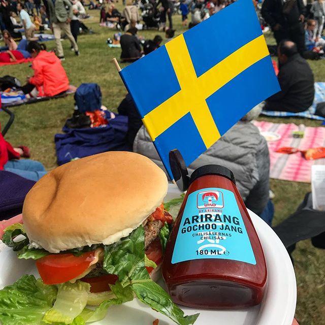Heja heja Sverige 🇸🇪🌸