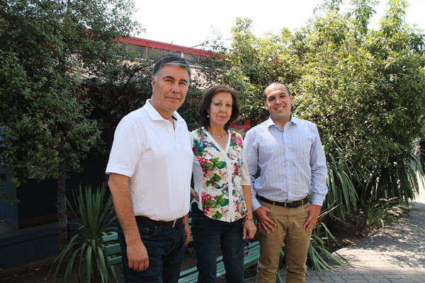 Fernando, Graciela y Gonzalo
