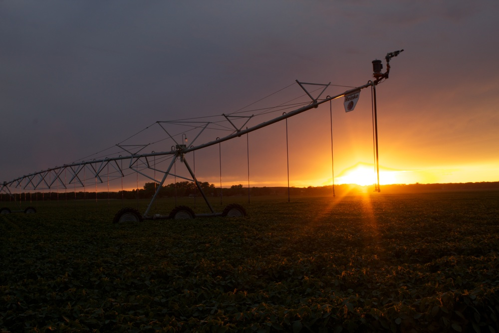 Reinke-Center-Pivot-Sunset