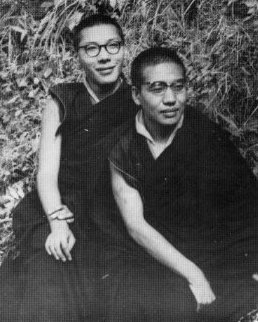 Chogyam Trungpa, Akong Tulku, India