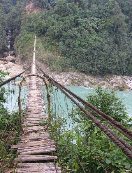 More modern bridge over Brahmaputra