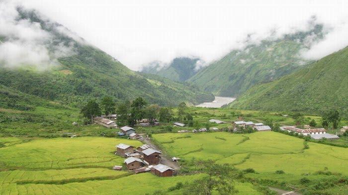 Brahmaputra Valley village
