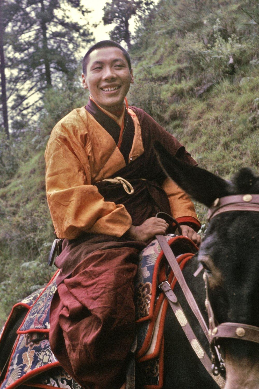 Chogyam Trungpa - Bhutan, October 1968 (Dan Russell)