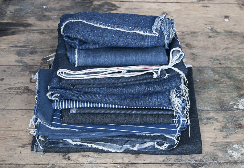 Denim, stretch denim, selvedge denim, organic denim, hemp denim