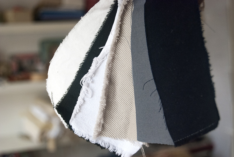 Cotton drill, twill and canvas in a range of weights and colours. Hard wearing utility fabric