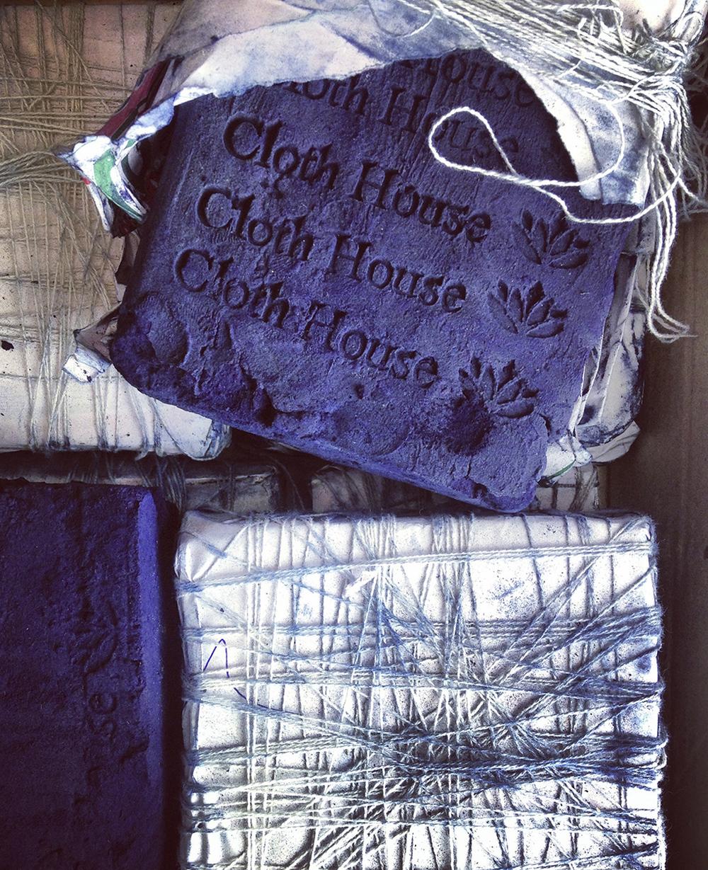 Natural indigo dye made in India exclusively for Cloth House   available to buy here.