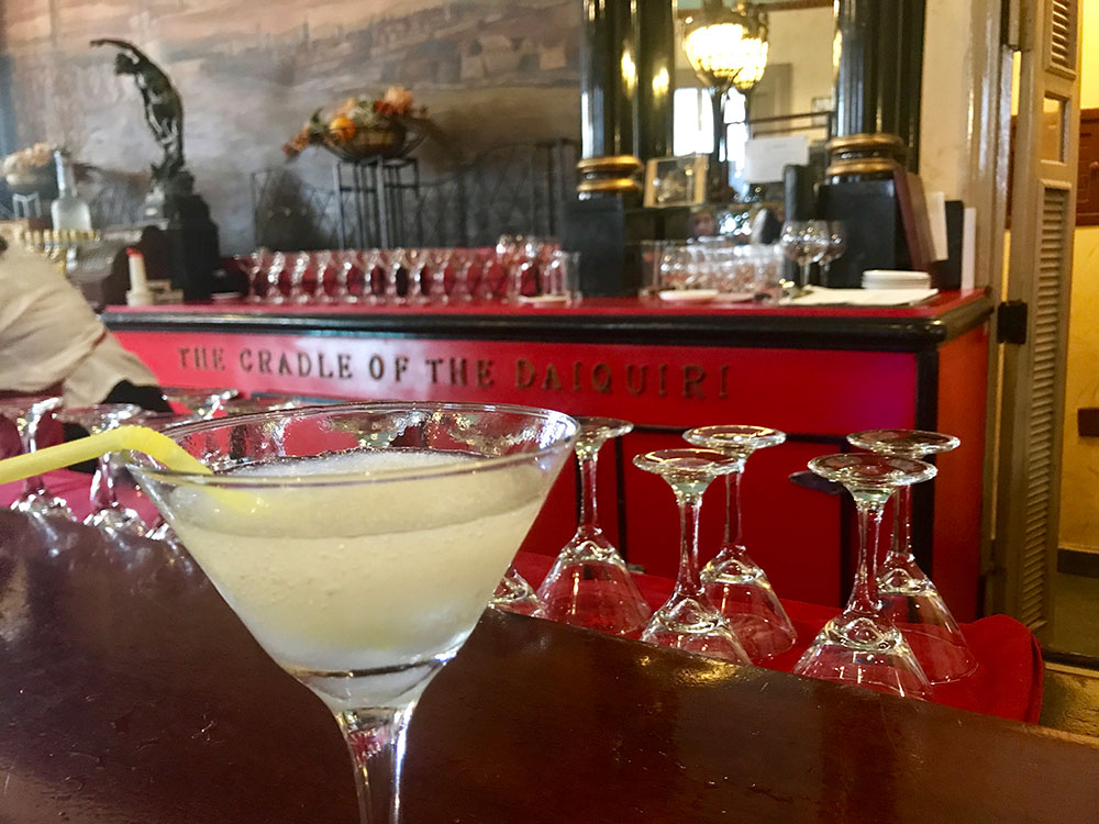 Cuba is the home of the Daiquiri, and la Floridita is one of the best places to enjoy it!
