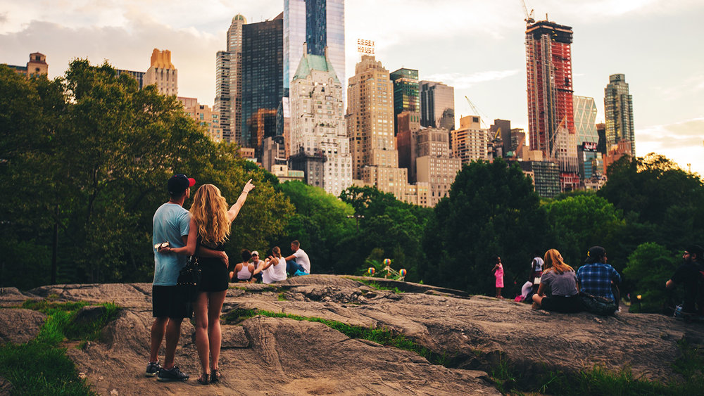 Our work increased tourism to Central Park in NYC.