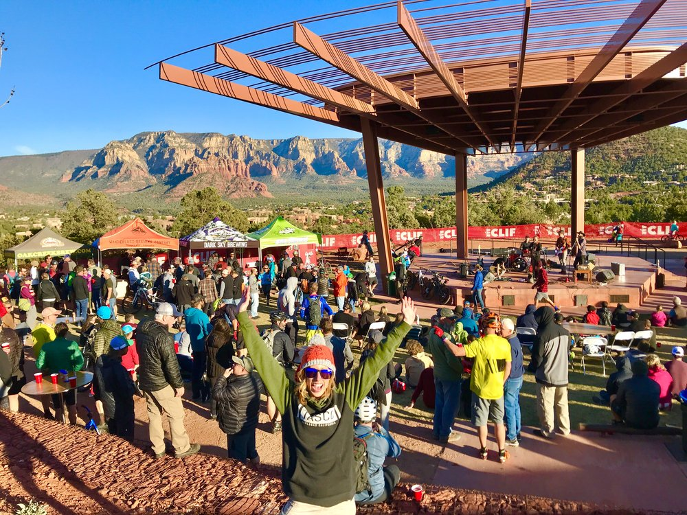 With food, beer, live music and bikes, the stoke is high at the Sedona Mountain Bike Festival in Arizona!