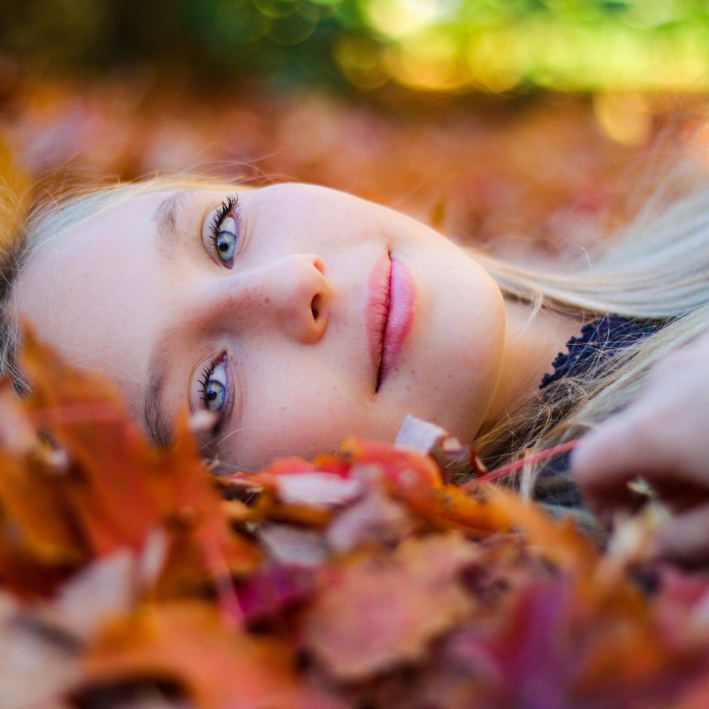 Blonde in Fall Leaves square.jpg