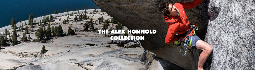 Black Diamond loves Alex Honnold's work as a brand ambassador so much that they've  created the Alex Honnold collection- with part of the proceeds going to support the Honnold Foundation.