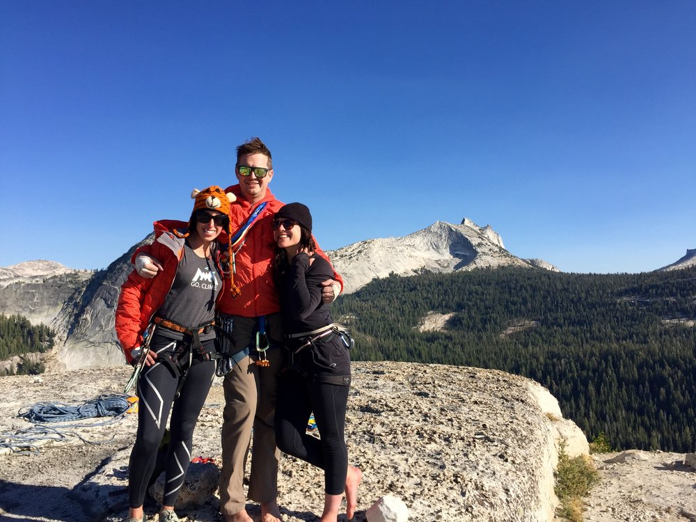 High above the Valley floor, rock climbing in Tuolumne Meadows provides incredible views and less crowds.