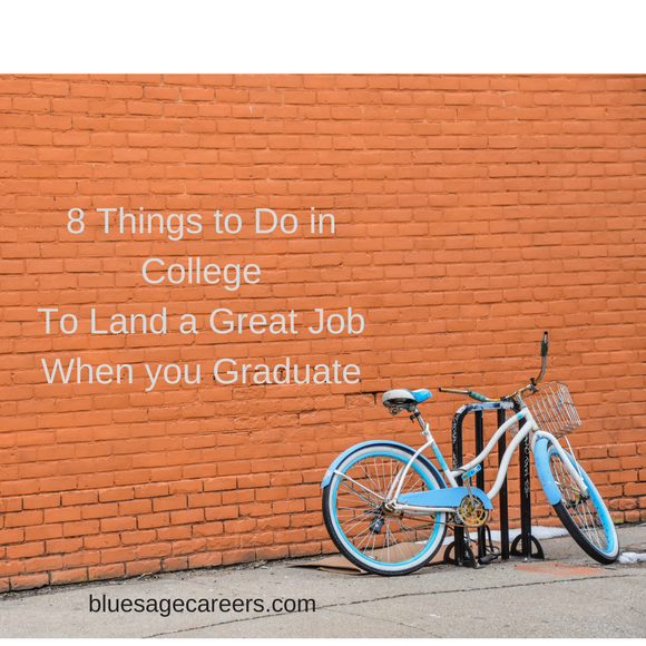 things to do in college to get a job