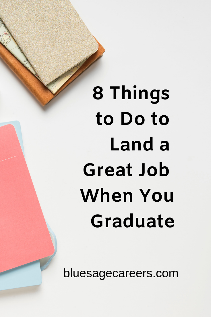 8 Things to Do to Land a Great job pinterest graphic.png