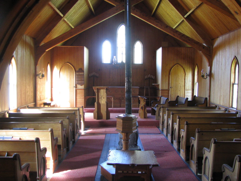 View toward front of chapel