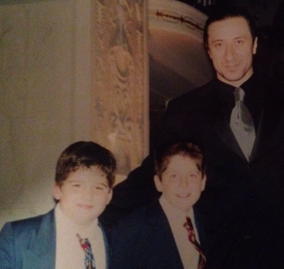 Chubby li'l me with Furio Fucking Giunta