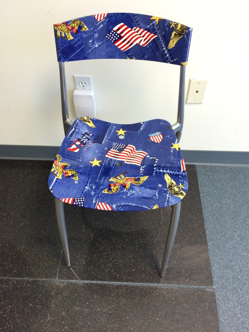 American Flag Chair.JPG