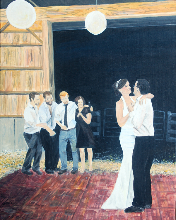First Dance - Barn Wedding