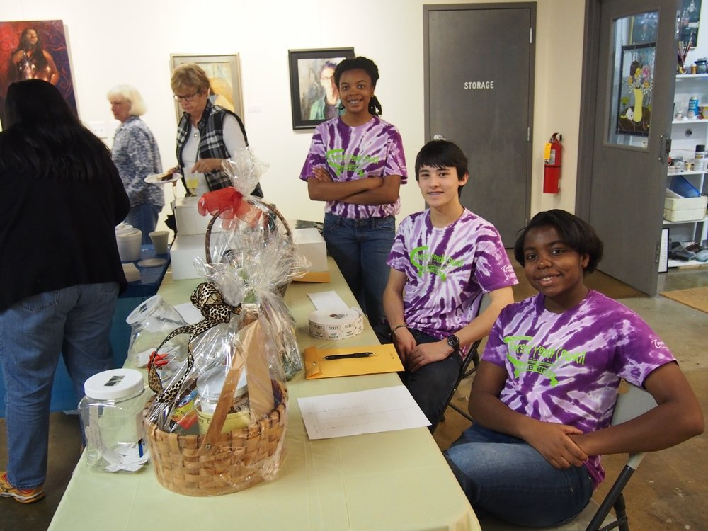 Concord Youth Council Volunteers and Donated Gifts