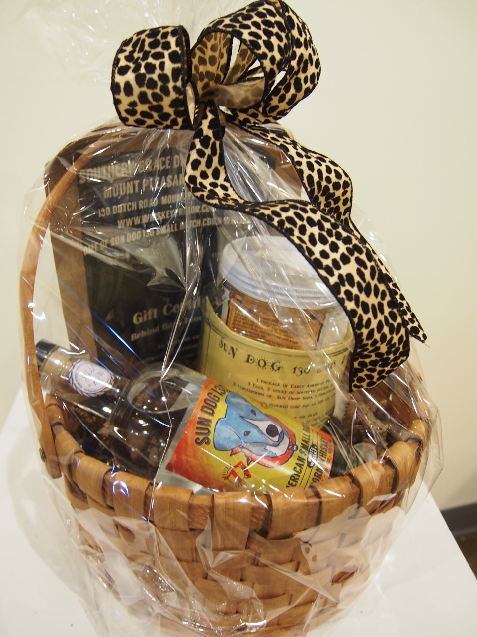 $55 Gift Basket from Southern Grace Distillery