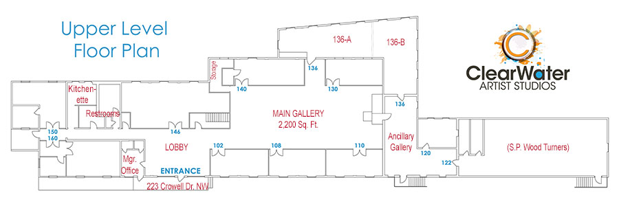 Click to view Operations Bldg. Upper Level Floor Plan