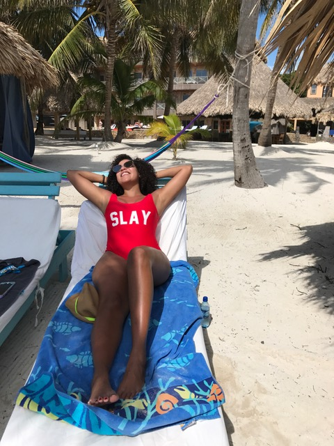 Slay All Day. #BeachBabe
