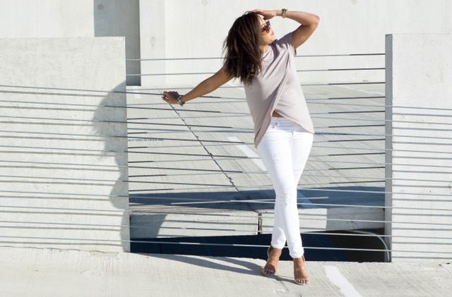 Top: BCBG | Jeans: Express | Shoes: Lola Shoetique