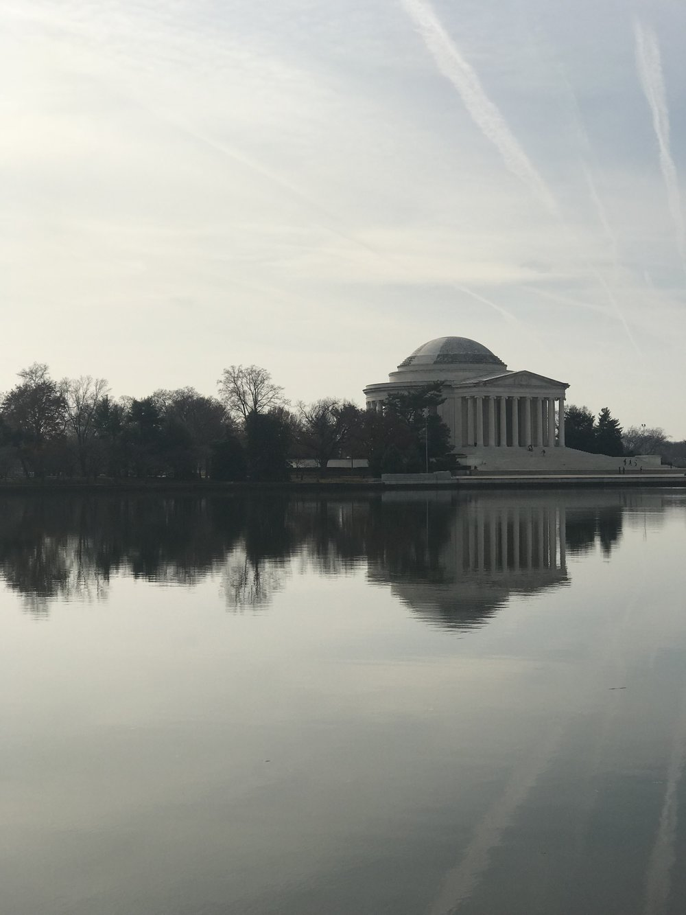 The Jefferson Memorial! So stunning!