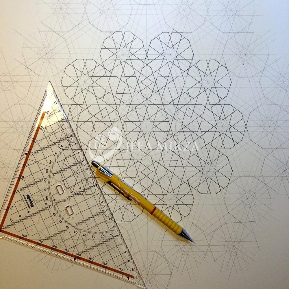 A complex Moorish Pattern