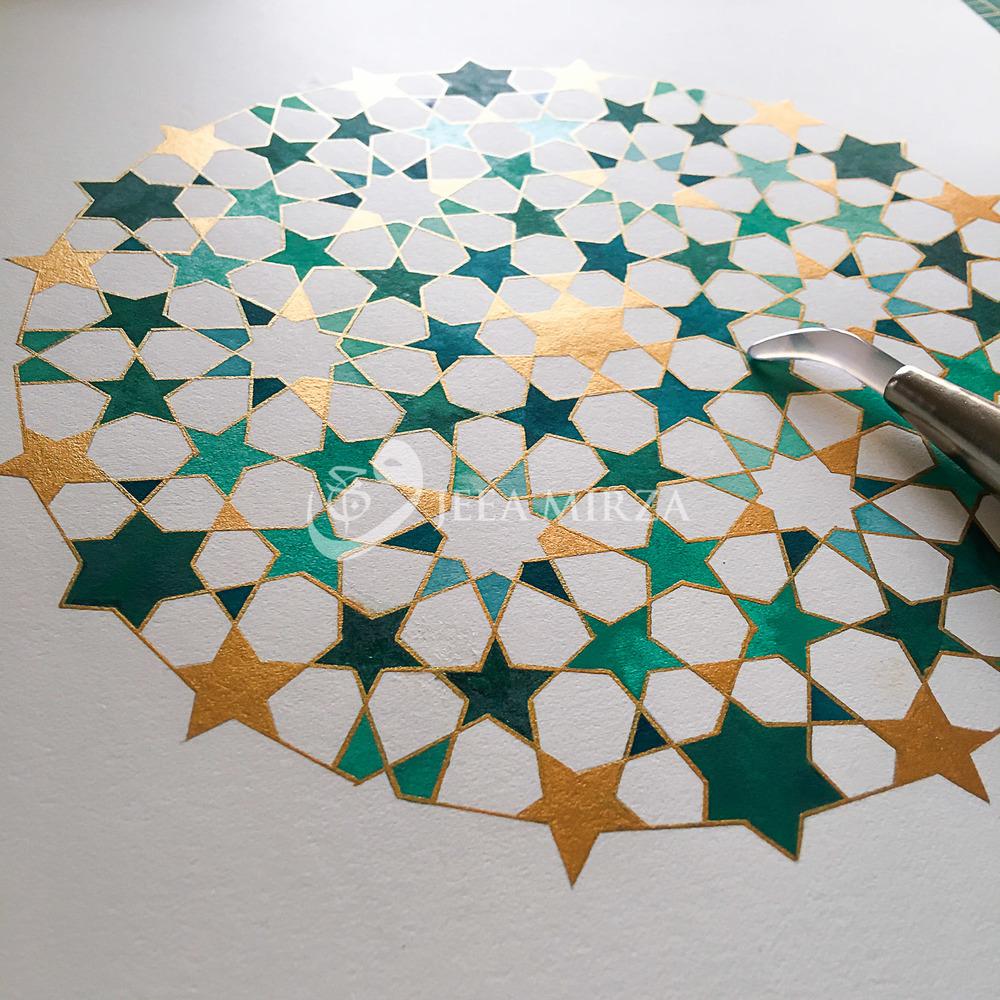 A Complex Mamluk Pattern