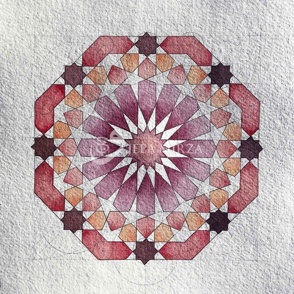 A Moorish Tile