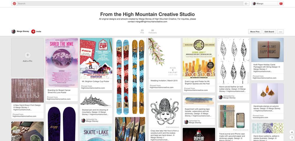 High Mountain Creative on Pinterest