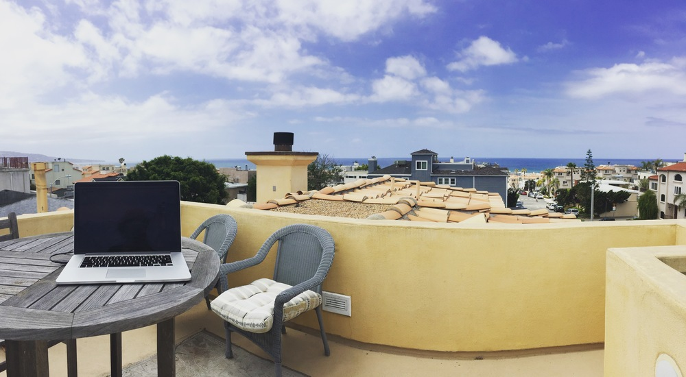 Rooftop Office in Hermosa Beach.