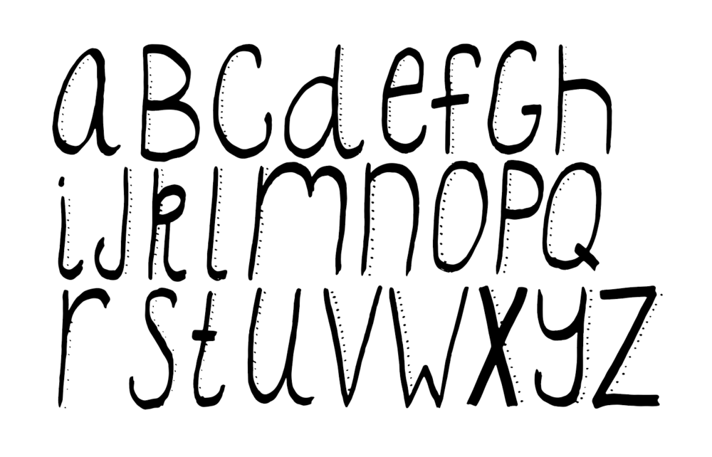I think my next personal challenge will be hand-drawn fonts. I'm still in the doodle phase. Professional hand-letterers are my heroes, they have so much patience and attention to detail.
