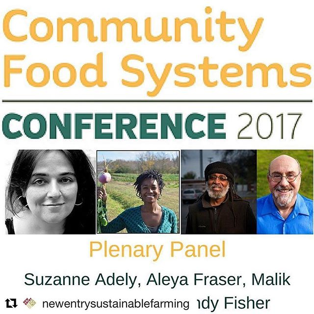 Day two of  @newentrysustainablefarming Community Food Systems Conference today. #foodjustice #foodsystems #communityfoodconference ・・・ #CommunityFoodConference events start TOMORROW! We're super excited for all the amazing workshops, including the plenary panel featuring activists and leaders who are working to bring social justice to our food system. See you soon!