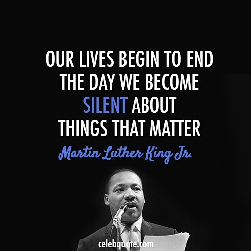 Keep letting your voice be heard. #mlk #justice #foodjustice #equity #thefoodvoice