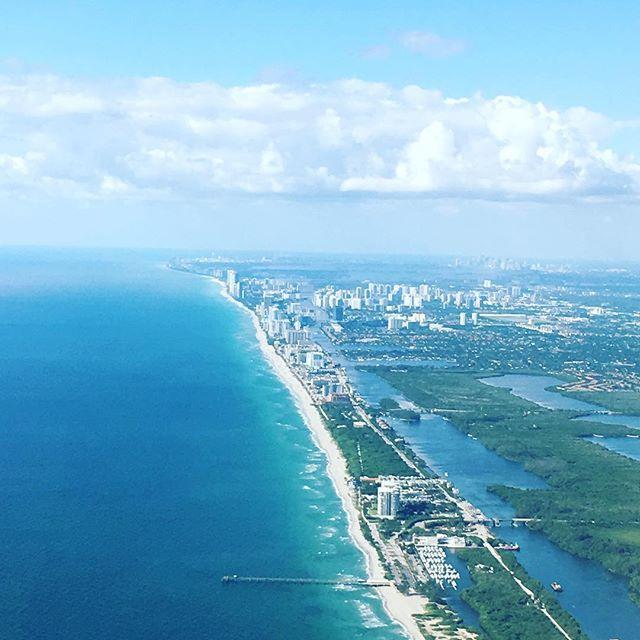 Southern Florida coastline.