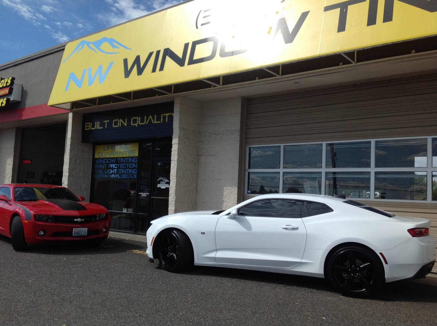 high quality car window tint in vancouver